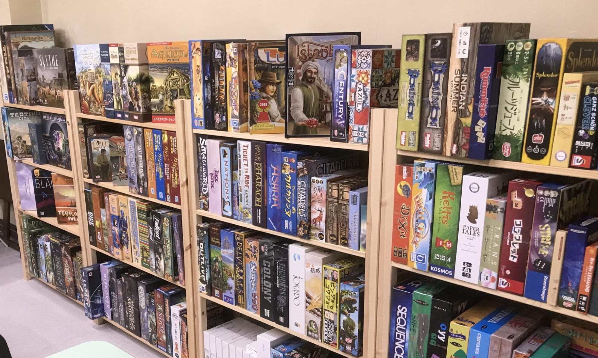 Board Game Space  隠し部屋